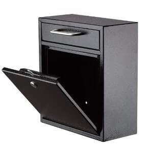 AdirOffice Ultimate Drop Box Wall-Mounted Mailbox
