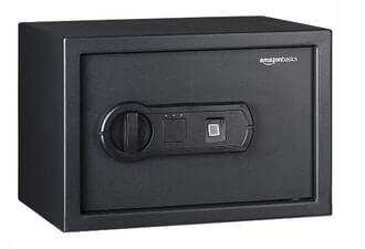 AmazonBasics 50FIC Biometric Fingerprint Safe