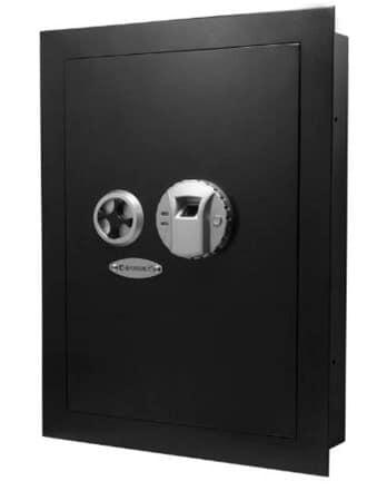 Barska AX12038 Biometric Fingerprint Security Wall Safe