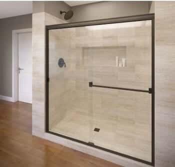 Basco-Classic Sliding Shower Door CLCH05A6070CLOR