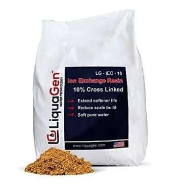 Best 10% Crosslink Resin LiquaGen 2 Cu.Ft