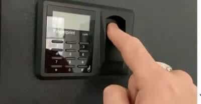 Best Biometric Wall Safe