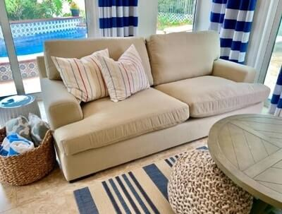 Best Deep Seat Sofa