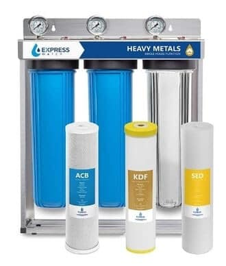Express Water WH300SCKS – Heavy Metal Whole House Water Filter