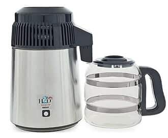 H2oLabs Best-In-Class Stainless Steel Water Distiller