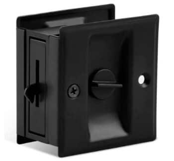 Privacy Sliding Door Lock with pull, HOMOTEK 43237-2