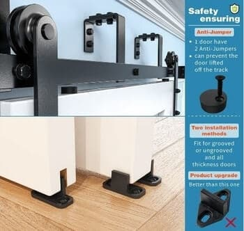 ZEKOO 5-16FT – Best Double Bypass Low Ceiling Kit