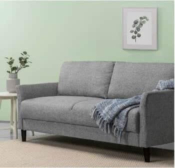 Zinus Jackie Classic 71 Inch Upholstered Sofa