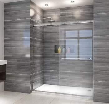 elegant frameless shower doors