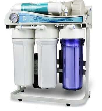 Best Tankless Reverse Osmosis System for Well Water: ispring RCS5T Tankless RO Water Filter System