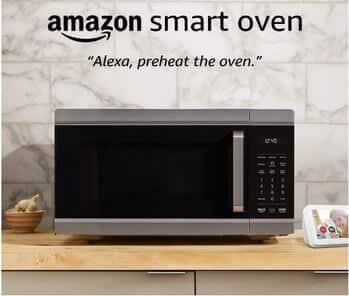 Amazon Smart Oven, plus Echo Show 5