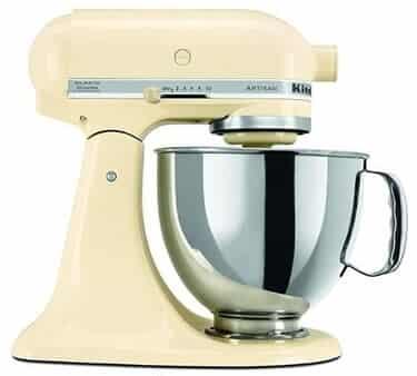 kitchenaid 5 qt stand mixer, RRK150OB